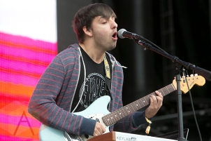 Skylar Spence performing at the Treasure Island Music Festival in San Francisco on October 17, 2015. (Photo: Raymond Ahner/Aesthetic Magazine)