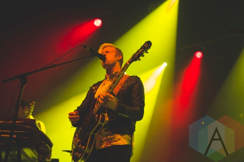 Maudlin Strangers performing at The Danforth Music Hall in Toronto on October 20, 2015. (Photo: Ryan Lawson/Aesthetic Magazine)