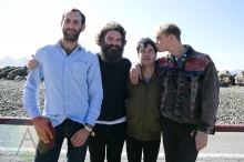 Viet Cong at the Treasure Island Music Festival in San Francisco on October 18, 2015. (Photo: Raymond Ahner/Aesthetic Magazine)