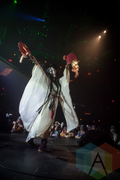 Golden Dawn Arkestra performing at the 2015 Zombie Ball at The Moody Theater in Austin, Texas on October 31, 2015. (Photo: Michael Hurley/Aesthetic Magazine)