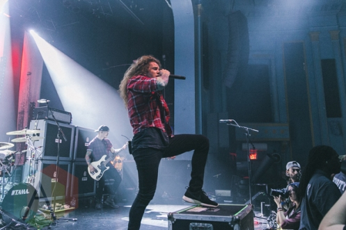 Miss May I performing at The Danforth Music Hall in Toronto on November 12, 2015. (Photo: Matt Jumper/Aesthetic Magazine)