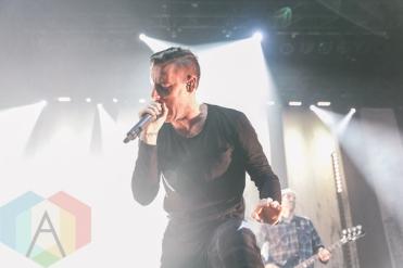 Parkway Drive performing at The Danforth Music Hall in Toronto on November 12, 2015. (Photo: Matt Jumper/Aesthetic Magazine)