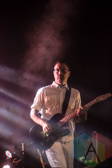 Matthew Good performing at the Vogue Theatre in Vancouver on November 13, 2015. (Photo: Amy Ray/Aesthetic Magazine)