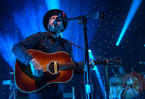 Dallas Green of City And Colour performing at The Fillmore in Detroit on November 5, 2015. (Photo: Jamie Limbright/Aesthetic Magazine)