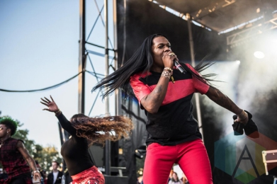 Big Freedia performing at Fun Fun Fun Fest in Austin, Texas on November 8, 2015. (Photo: Chad Wadsworth)