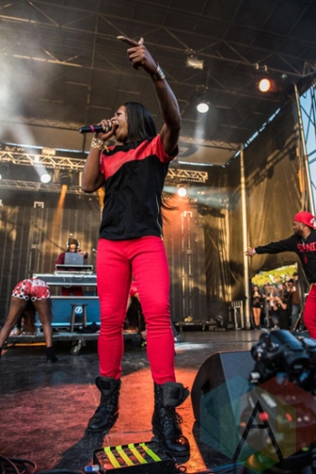 Big Freedia performing at Fun Fun Fun Fest in Austin, Texas on November 8, 2015. (Photo: Reagan Hackleman)