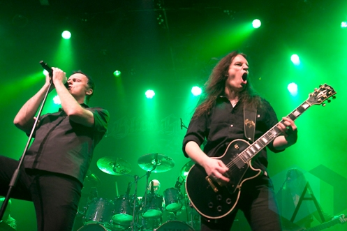 Blind Guardian performing at The Fillmore in San Francisco, California on November 19, 2015. (Photo: Raymond Ahner/Aesthetic Magazine)