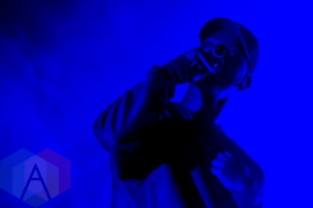 Bryson Tiller performing at the Joe Louis Arena in Detroit on November 6, 2015. (Photo: Amanda Cain/Aesthetic Magazine)