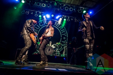 Buckcherry performing at The Phoenix Concert Theatre in Toronto on November 24, 2015. (Photo: Dale Benvenuto/Aesthetic Magazine)