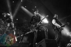 Chromeo performing at Fun Fun Fun Fest in Austin, Texas on November 8, 2015. (Photo: Greg Giannukos)