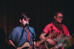 Mal Blum performing at The Drake Hotel in Toronto on November 2, 2015. (Photo: Matthew Fernandes/Aesthetic Magazine)