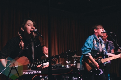 Allison Weiss performing at The Drake Hotel in Toronto on November 2, 2015. (Photo: Matthew Fernandes/Aesthetic Magazine)