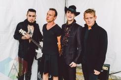 Jane's Addiction backstage at Fun Fun Fun Fest in Austin, Texas on November 7, 2015. (Photo: Chad Wadsworth)