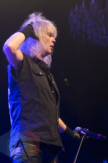 Grave Digger performing at The Fillmore in San Francisco, California on November 19, 2015. (Photo: Raymond Ahner/Aesthetic Magazine)