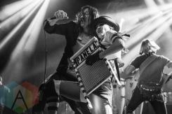 Gogol Bordello performing at Fun Fun Fun Fest in Austin, Texas on November 7, 2015. (Photo: Dave Mead)