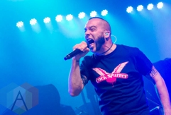Killswitch Engage performing at the Marquee Theatre in Tempe, Arizona on November 20, 2015. (Photo: Meghan Lee/Aesthetic Magazine)