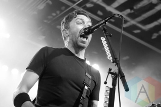 Rise Against performing at the Marquee Theatre in Tempe, Arizona on November 20, 2015. (Photo: Meghan Lee/Aesthetic Magazine)