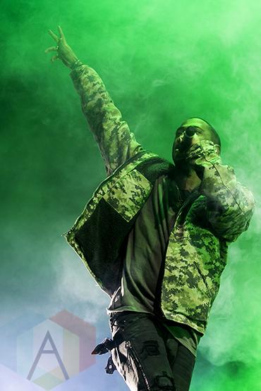 Big Sean performing at the Joe Louis Arena in Detroit on November 6, 2015. (Photo: Amanda Cain/Aesthetic Magazine)