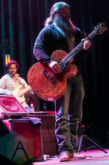 Jamey Johnson performing at The Fillmore in Detroit on November 20, 2015. (Photo: Amanda Cain/Aesthetic Magazine)