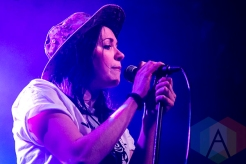 K.Flay performing at St. Andrews Hall in Detroit on November 24, 2015. (Photo: Amanda Cain/Aesthetic Magazine)