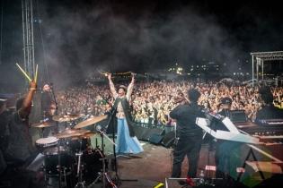 Lauryn Hill performing at Fun Fun Fun Fest in Austin, Texas on November 8, 2015. (Photo: Chad Wadsworth)