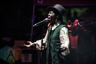 Lauryn Hill performing at Fun Fun Fun Fest in Austin, Texas on November 8, 2015. (Photo: Dave Mead)