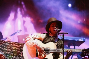 Lauryn Hill performing at Fun Fun Fun Fest in Austin, Texas on November 8, 2015. (Photo: Jackie Young)