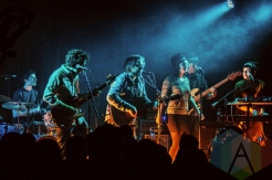 Marrow performing with Tweedy, and Homme at Lincoln Hall in Chicago on November 27, 2015. (Photo: Joshua Mellin/Aesthetic Magazine)