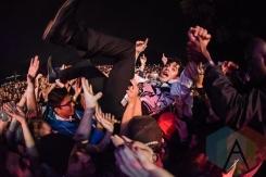 Neon Indian performing at Fun Fun Fun Fest in Austin, Texas on November 7, 2015. (Photo: Roger Ho)