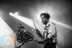 Neon Indian performing at Fun Fun Fun Fest in Austin, Texas on November 7, 2015. (Photo: Reagan Hackleman)