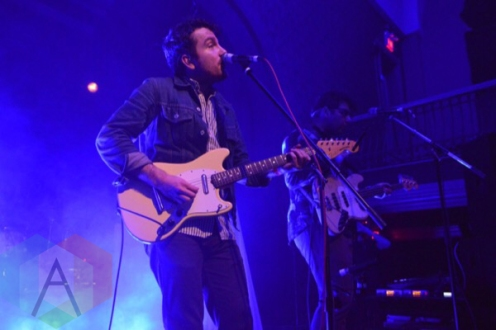 The Elwins performing at The Great Hall in Toronto on November 26, 2015. (Photo: Justin Roth/Aesthetic Magazine)