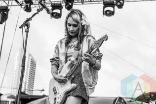 Speedy Ortiz performing at Fun Fun Fun Fest in Austin, Texas on November 7, 2015. (Photo: Greg Giannukos)