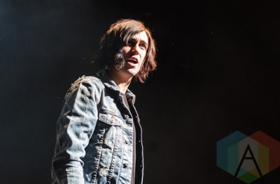 Sleeping With Sirens performing at Madison Square Garden in New York City on November 24, 2015. (Photo: Saidy Lopez/Aesthetic Magazine)