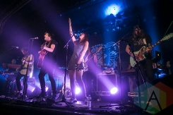 The Mowgli's performing at St. Andrews Hall in Detroit on November 24, 2015. (Photo: Amanda Cain/Aesthetic Magazine)