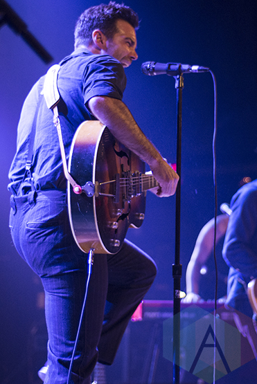 The Lone Bellow performing at The Opera House in Toronto on November 8, 2015. (Photo: Morgan Hotston/Aesthetic Magazine)