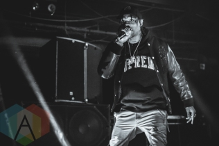 Travis Scott performing at the Sound Academy in Toronto on November 25, 2015. (Photo: Cameron Bartlett/Aesthetic Magazine)