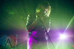 Matt Berninger of EL VY performing at The Opera House in Toronto on November 17, 2015. (Photo: Ryan Lawson/Aesthetic Magazine)