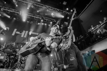 Tim Hicks performing at the London Music Hall in London, Ontario on November 21, 2015. (Photo: Josh Bruder/Aesthetic Magazine)