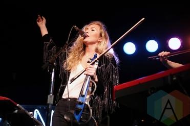 Lyon performing at Lee's Palace in Toronto on December 17, 2015. (Photo: Katrina Lat/Aesthetic Magazine)