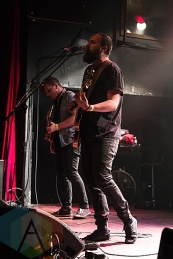 Aukland performing at The Mod Club in Toronto on December 19, 2015. (Photo: Theo Rallis/Aesthetic Magazine)