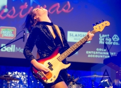 The Beaches performing at the Andy Kim Christmas Show at The Phoenix Concert Theatre in Toronto on December 9, 2015. (Photo: Orest Dorosh/Aesthetic Magazine)