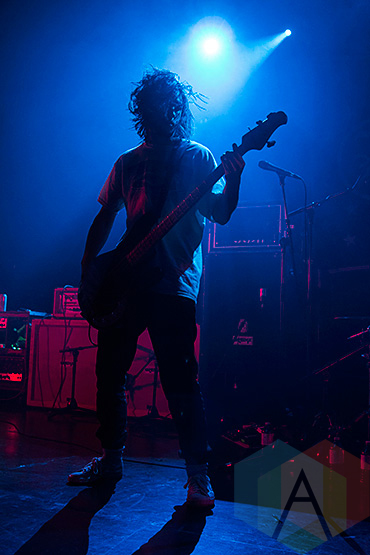 Cardinals Pride performing at The Danforth Music Hall in Toronto on December 20, 2015 during the Stay Warm Festival. (Photo: Theo Rallis/Aesthetic Magazine)