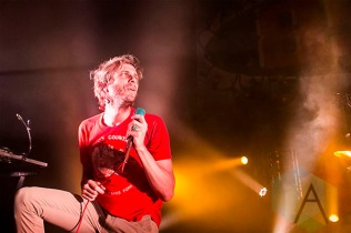 Awolnation performing at The Fillmore in Detroit on December 18, 2015 as part of The Night 89x Stole Christmas. (Photo: Amanda Cain/Aesthetic Magazine)
