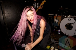 Queen Kwong performing at Sound Control in Manchester, UK on December 17, 2015. (Photo: Priti Shikotra/Aesthetic Magazine)