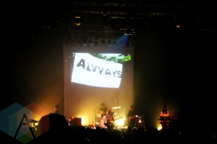 Alvvays performing at The Danforth Music Hall in Toronto on December 12, 2015. (Photo: Theresa Shim/Aesthetic Magazine)