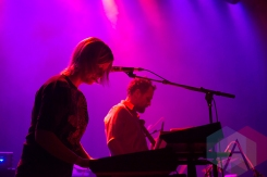 Laser performing at The Danforth Music Hall in Toronto on December 8, 2015. (Photo: Josh Ladouceur/Aesthetic Magazine)