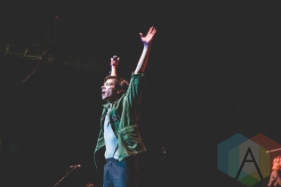 Nate Ruess performing at the Oh Starry Night holiday concert at the Petersen Events Centre in Pittsburgh on December 8, 2015. (Photo: Emily Kovacic/Aesthetic Magazine)