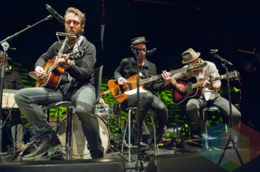 The Trews performing at the Andy Kim Christmas Show at The Phoenix Concert Theatre in Toronto on December 9, 2015. (Photo: Orest Dorosh/Aesthetic Magazine)