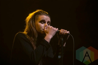 PVRIS performing at The Fillmore in Detroit on December 18, 2015 as part of The Night 89x Stole Christmas. (Photo: Amanda Cain/Aesthetic Magazine)