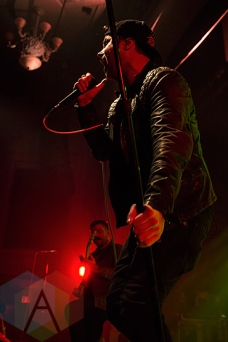 Silverstein performing at The Danforth Music Hall in Toronto on December 20, 2015 during the Stay Warm Festival. (Photo: Theo Rallis/Aesthetic Magazine)